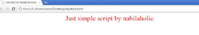 Tutorial Membuat Script Deface Sederhana