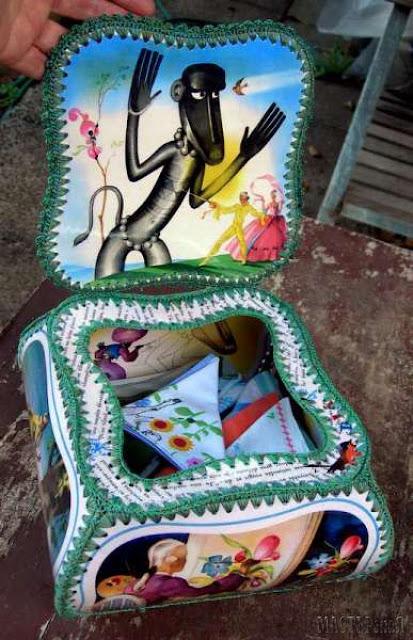 Шкатулка диванчик из открыток своими руками, картинки про