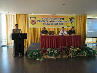 Dengan Menerjunkan 603 Personil Polres Cirebon Kota Siap Mengamankan Arus Mudi Dan Balik lebaran 2018