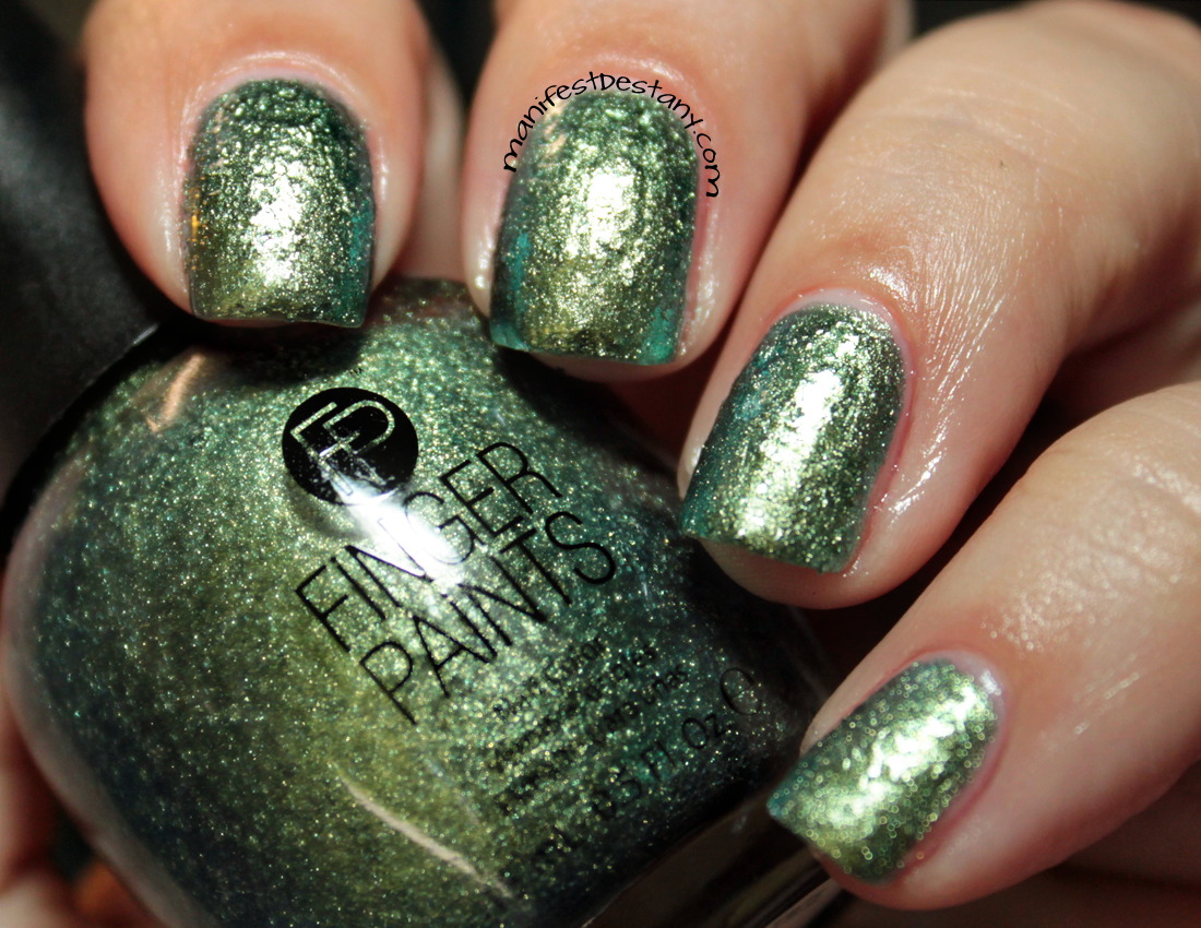 FingerPaints Enchanted Mermaid Collection swatches+review ...