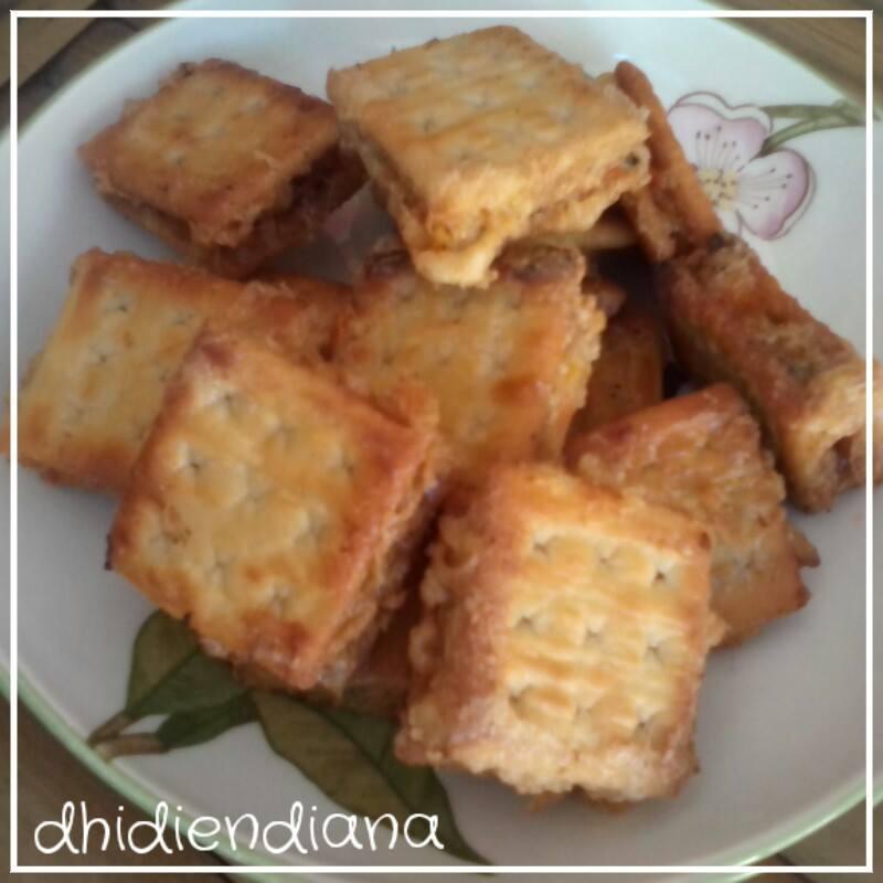Dhidien Diana Resep Finger Food Mangkring Crackers Sayur