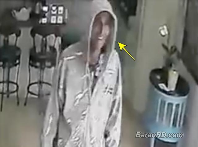 Video: Ladrón queda grabado y sonriendo en SFM