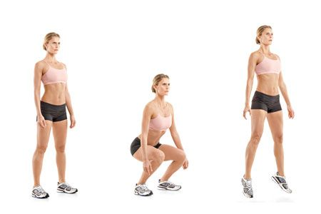Plyometric Squats