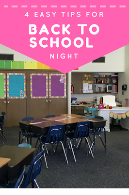 4 easy tips and tricks for back to school night in your middle school classroom! You will love these and help you make sure you have a great back to school night with your parents!