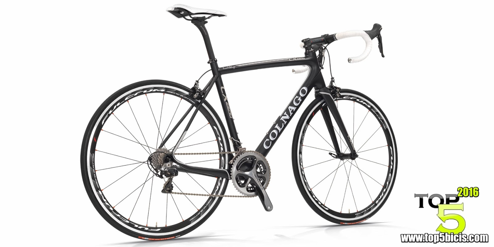 top 5 bicicletas de carretera  la colnago cx cero evo se