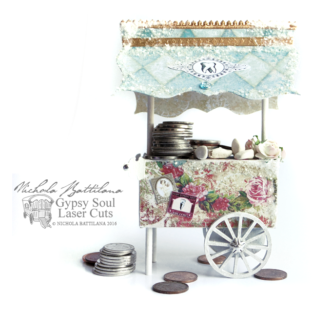 Tooth Fairy Cart with Tutorial - Nichola Battilana