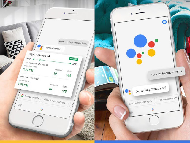 Google Announces Google Assistant (Company's AI-based voice assistant) & Siri alternative at Google I/O, and has landed on iOS AppStore for download.
