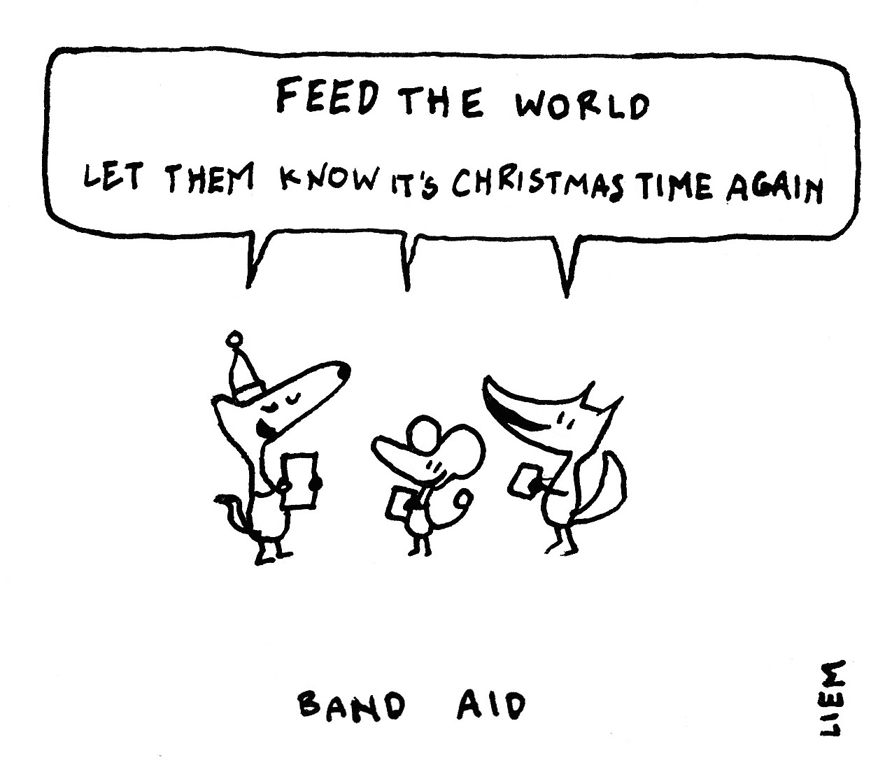 Sketchbook: 365 Songs: 234. Feed the world