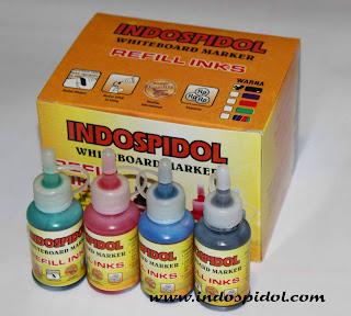Tinta isi ulang spidol boardmarker 30 ml