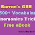 [PDF] Barron's GRE 3500+ Vocabulary Mnemonics Tricks Free eBook