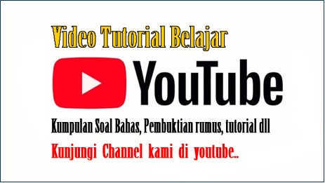 CHANNEL YOUTUBE RESMI:
