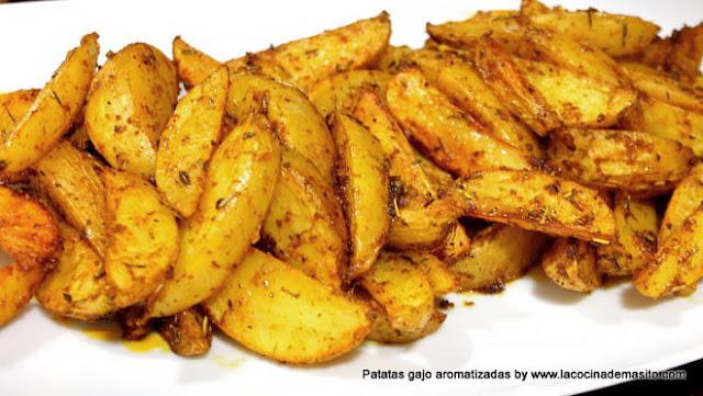 Patatas gajo o de luxe al horno