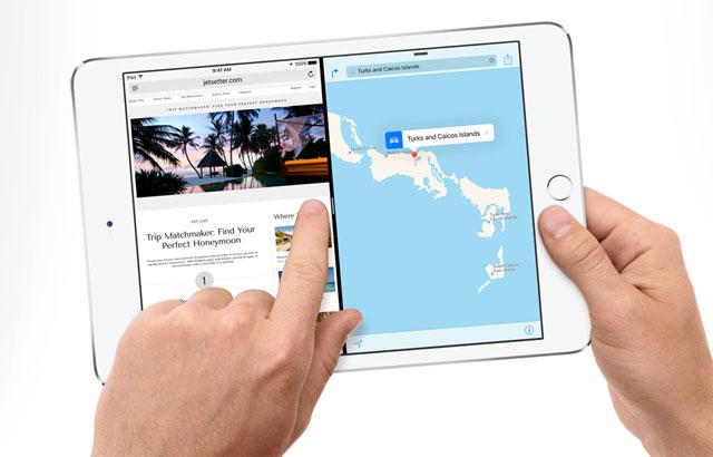 Split View Apple iPad Mini 4
