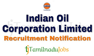IOCL Recruitment notification of 2019, govt jobs for diploma