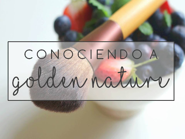 CONOCIENDO A GOLDEN NATURE