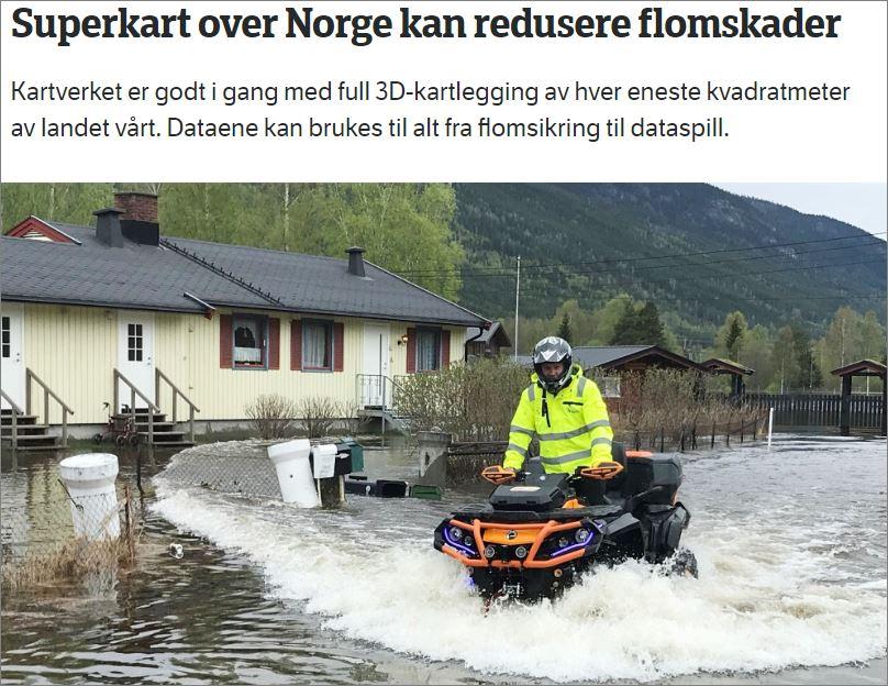 Chaffeys Blogg Hele Norge Pa 3d Kart