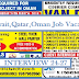 UAE,KUWAIT,QATAR,OMAN JOB VACANCIES