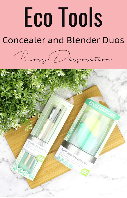 Eco Tools Blending Sponge Duo and Concealer Brush Duo review