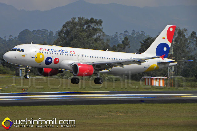 VivaColombia Airbus A320