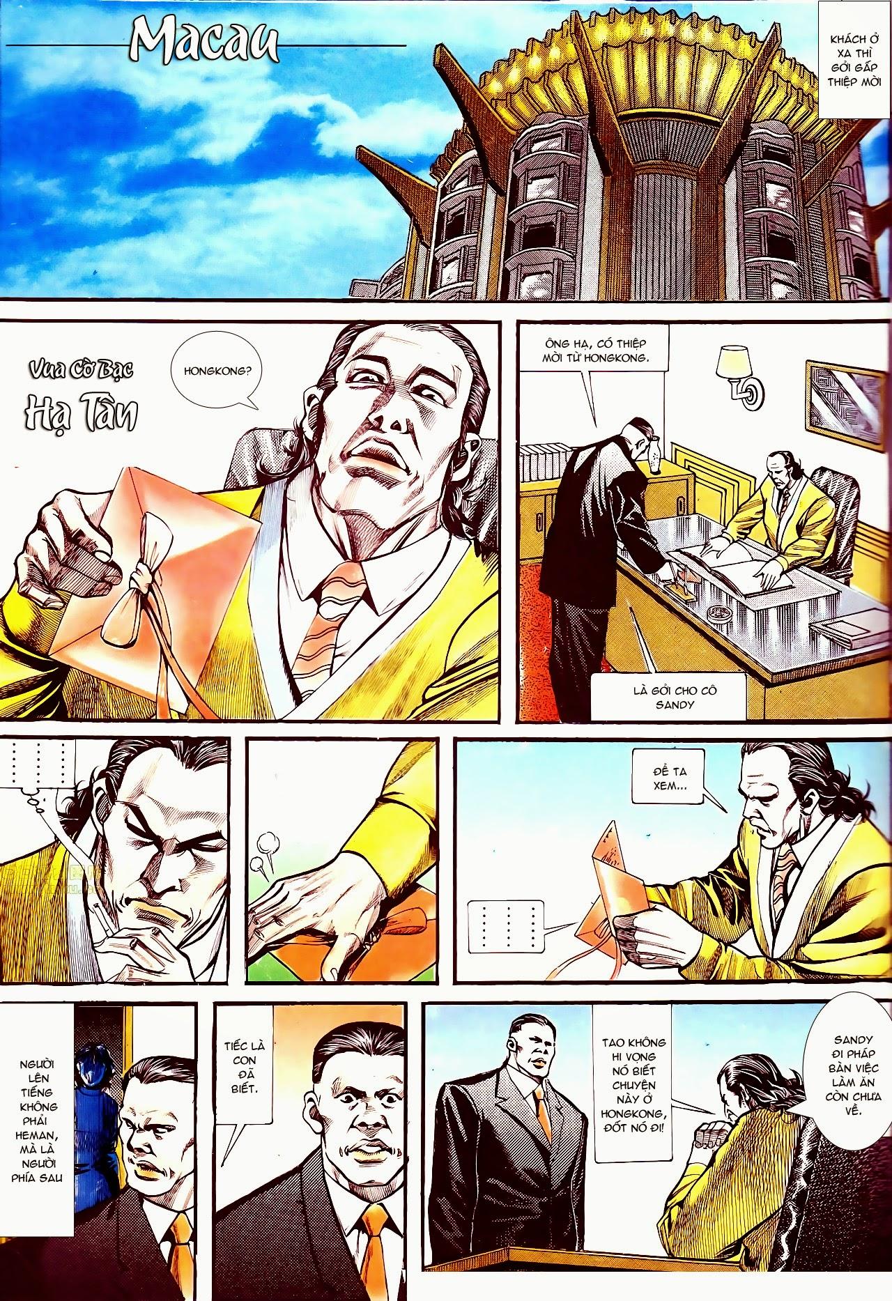 Người Trong Giang Hồ chapter 134: tấn công bảo nhi trang 8