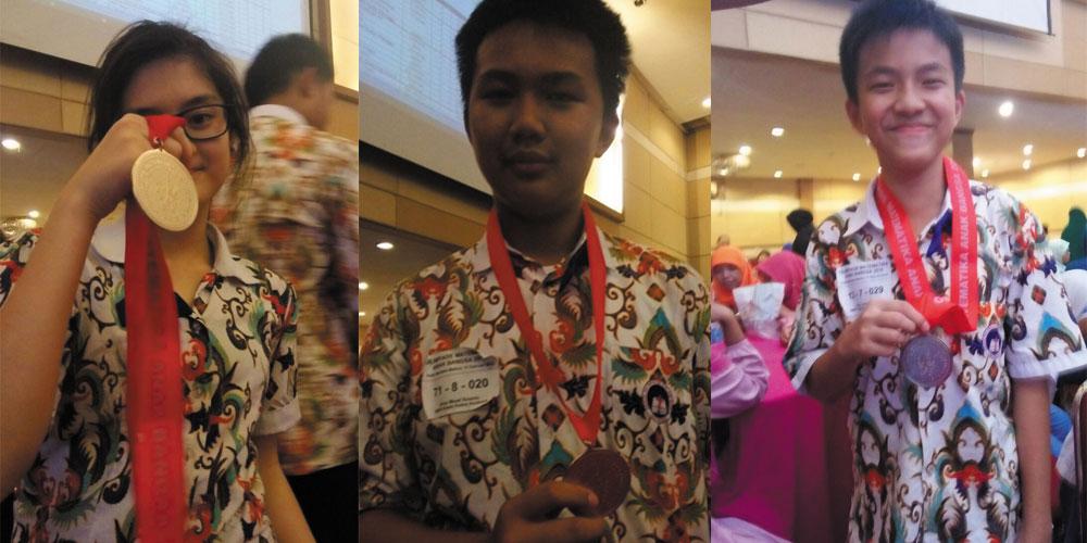 Tiga Siswa SMP Kalam Kudus Juara di Olimpiade Anak Bangsa Madiun