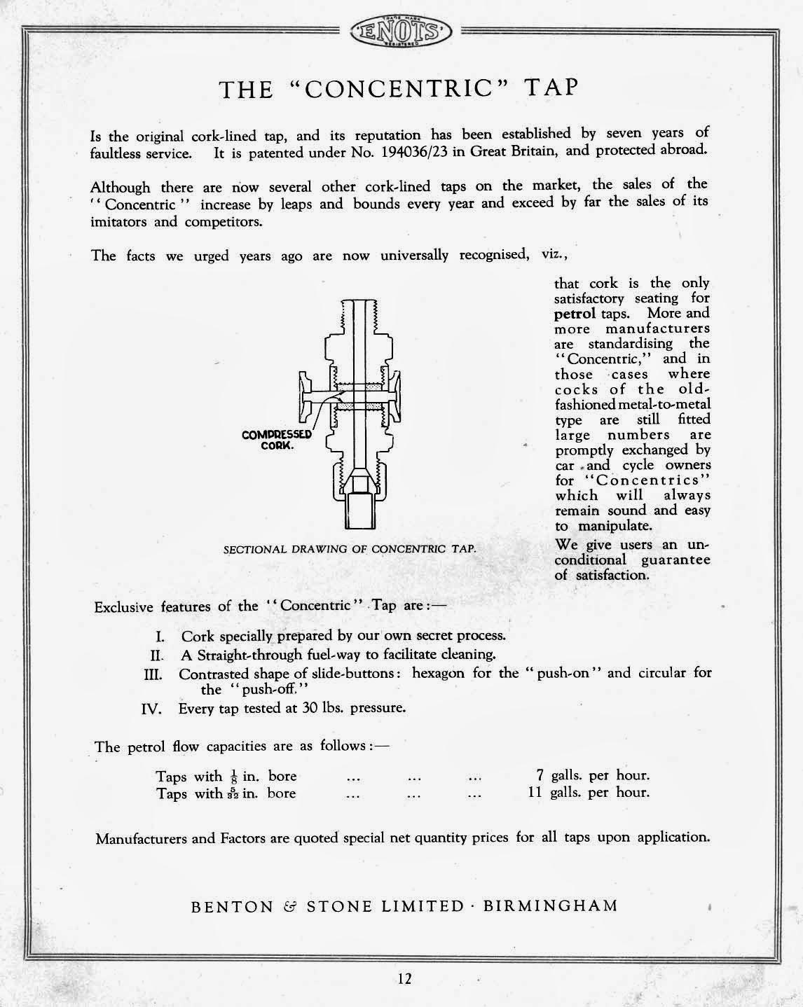 The Velobanjogent A Look At A Enots Benton Amp Stone