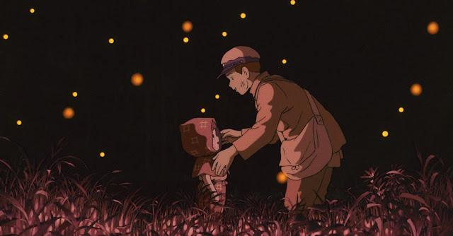 Película de Studio Ghibli La Tumba de las Luciérnagas dirigida por Isao Takahata en el año 1988