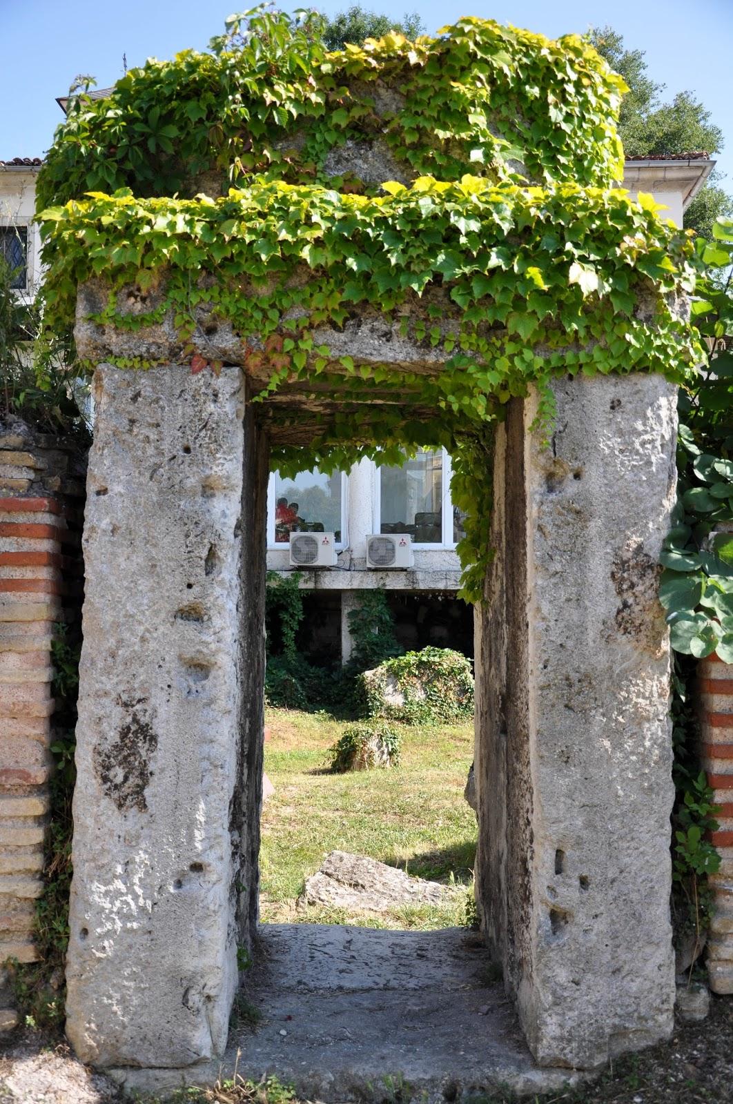 Gate, The Roman Thermae, Varna, Bulgaria