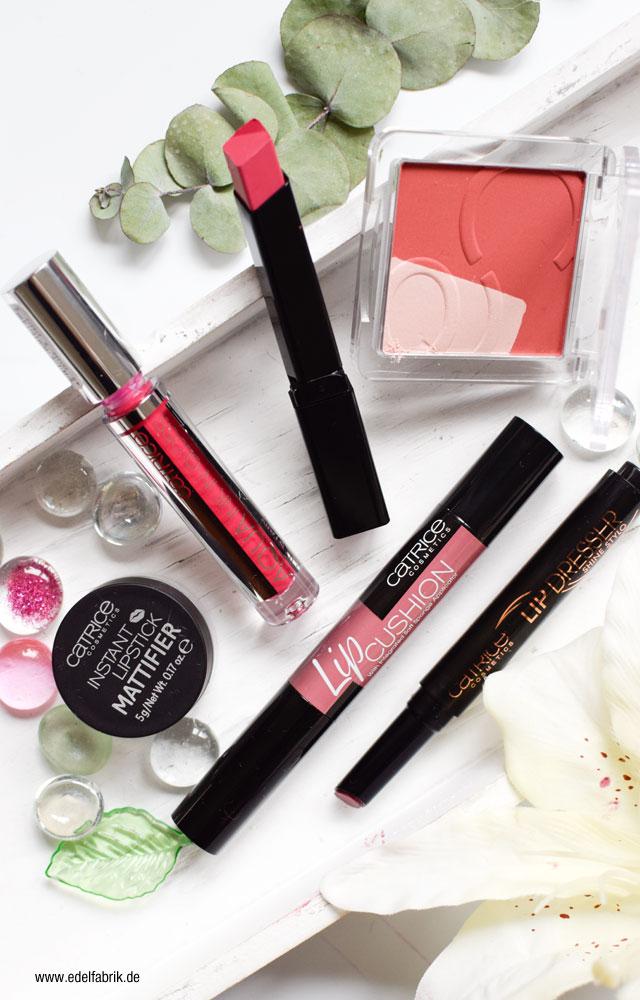 Catrice Sortimentsupdate, Lippenstift, Lipgloss