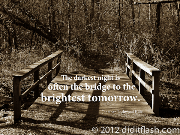 Bridge River Picture Bridge Quotes