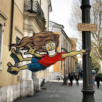 urka street art italy