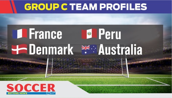 Group C - World Cup 2018 - France, Peru, Denmark, Australia