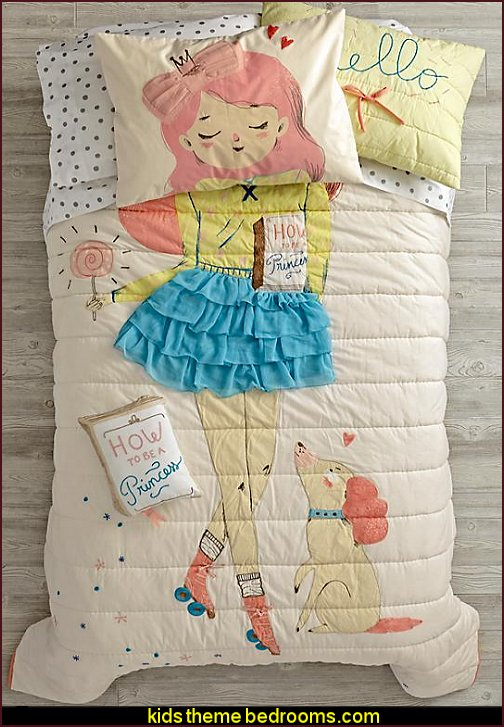 Wardrobe Change Bedding girls bedding