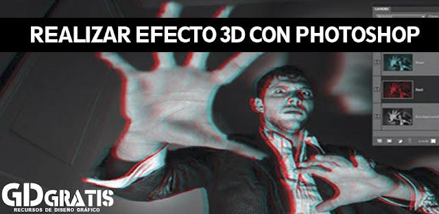 efecto 3d con photoshop