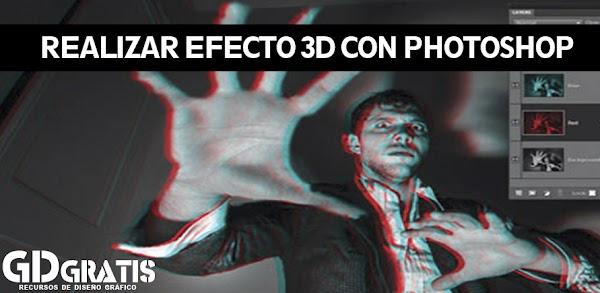 Tutorial: Realizar efecto 3D en imagenes con Photoshop (CC. CS3, CS4, CS4, CS6)