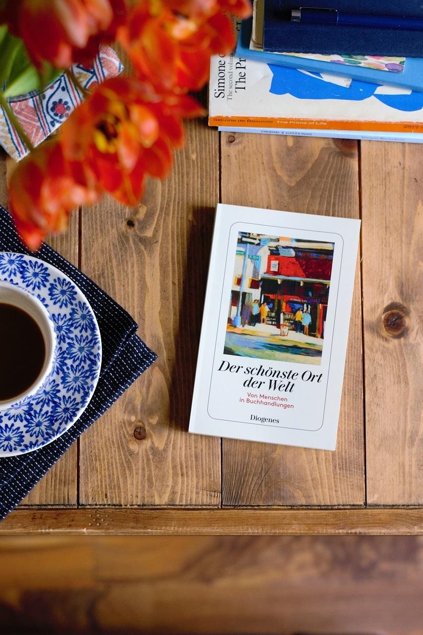 Bookshop stories, Der schönste Ort der Welt: Von Menschen in Buchhandlungen, published by Diogenes · Lisa Hjalt