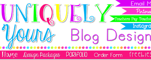 Welcome to Uniquely Yours Blog Design