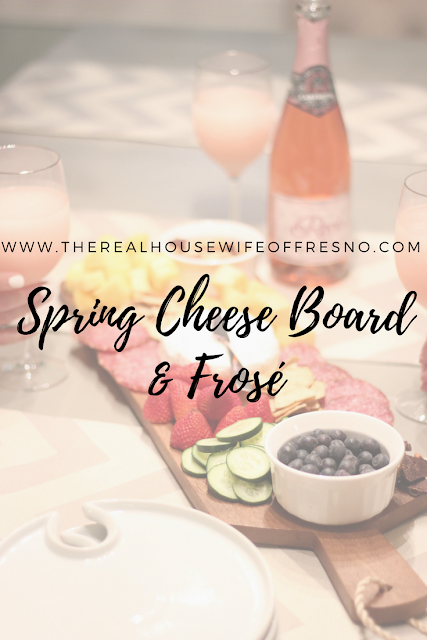 Spring Cheese Board & Frose