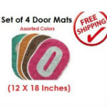 K decor Door Mats Set of 4 For Rs 99 Free Shipping at Shopclues