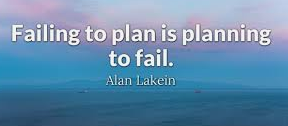 They Say That If You Fail to Plan, You're Planning to Fail - Can It Be the Same Travel Planning?
