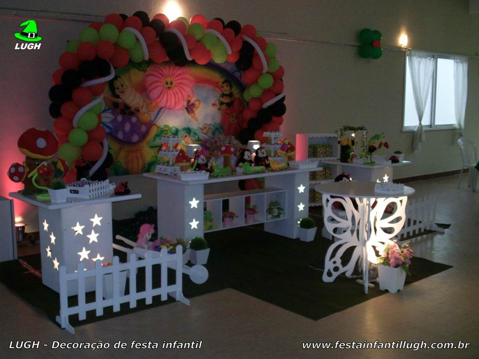 Infantil Para Festa De Meninas – Fotos Decoração Provençal – Festa ~ Decoracao De Festa Jardim Provencal