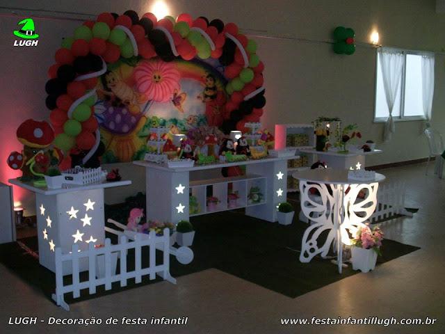 Festa infantil Jardim Encantado - Decoração provençal luxo