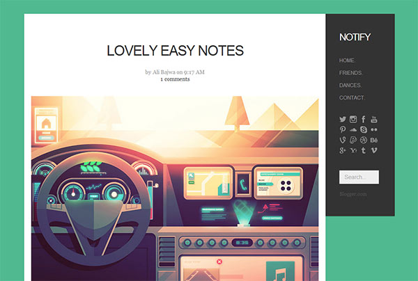 18 Modern Polished Blogger Templates You Shouldn T Miss Welcom To World Of And Adsense