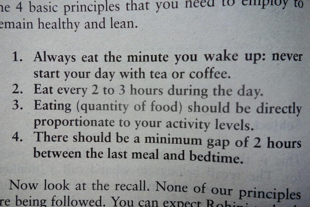 Diet Chart By Rujuta Diwekar The Fat Loss Programs
