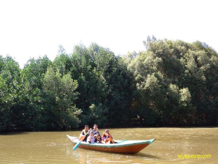 harga tiket naik perahu di mangrove pik