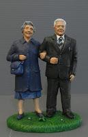 statuine personalizzate realistiche nonno nonna presepio orme magiche
