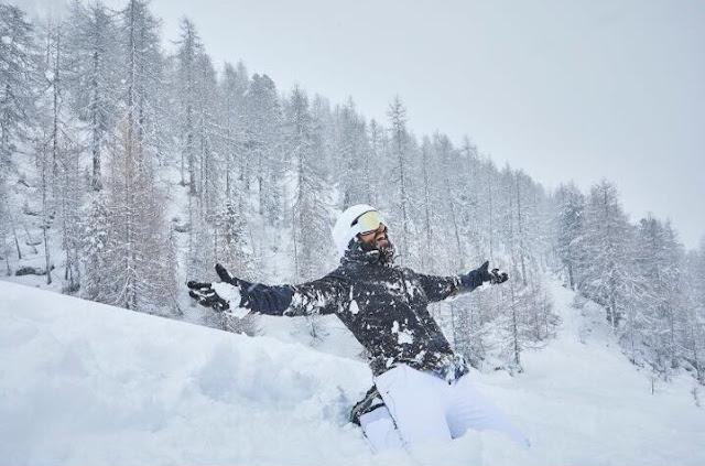 Ranveer Singh back in Switzerland