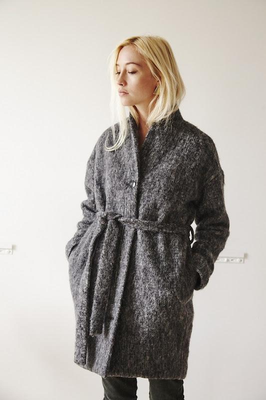 Manteau gris Coatpeople
