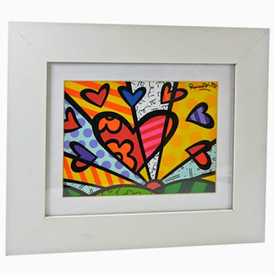Quadro Romero Britto - New day
