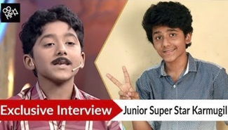 Fun Talk with Junior Super Star Runner Up Karmugil Vannan | Juniour SuperStar, Zee Tamil